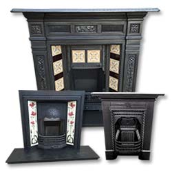 All Cast Iron Antique Fireplaces