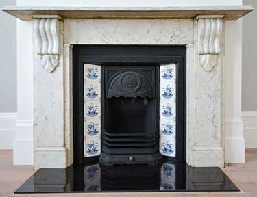 190B - Original Victorian / Edwardian Bedroom Fireplace