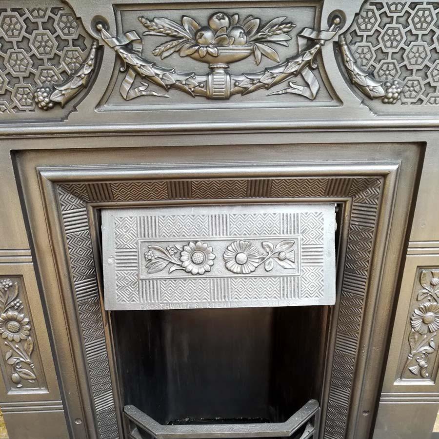 Antique Vintage Bedroom Fireplace: Original Antique Bedroom Fireplace