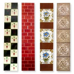 Fireplace Tiles Antique New Specialist Designs