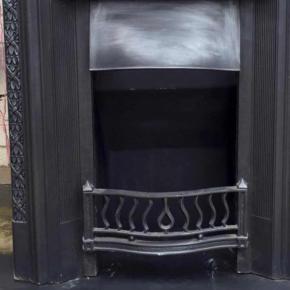 Restored Original Bedroom Fireplace Victorian Fireplace