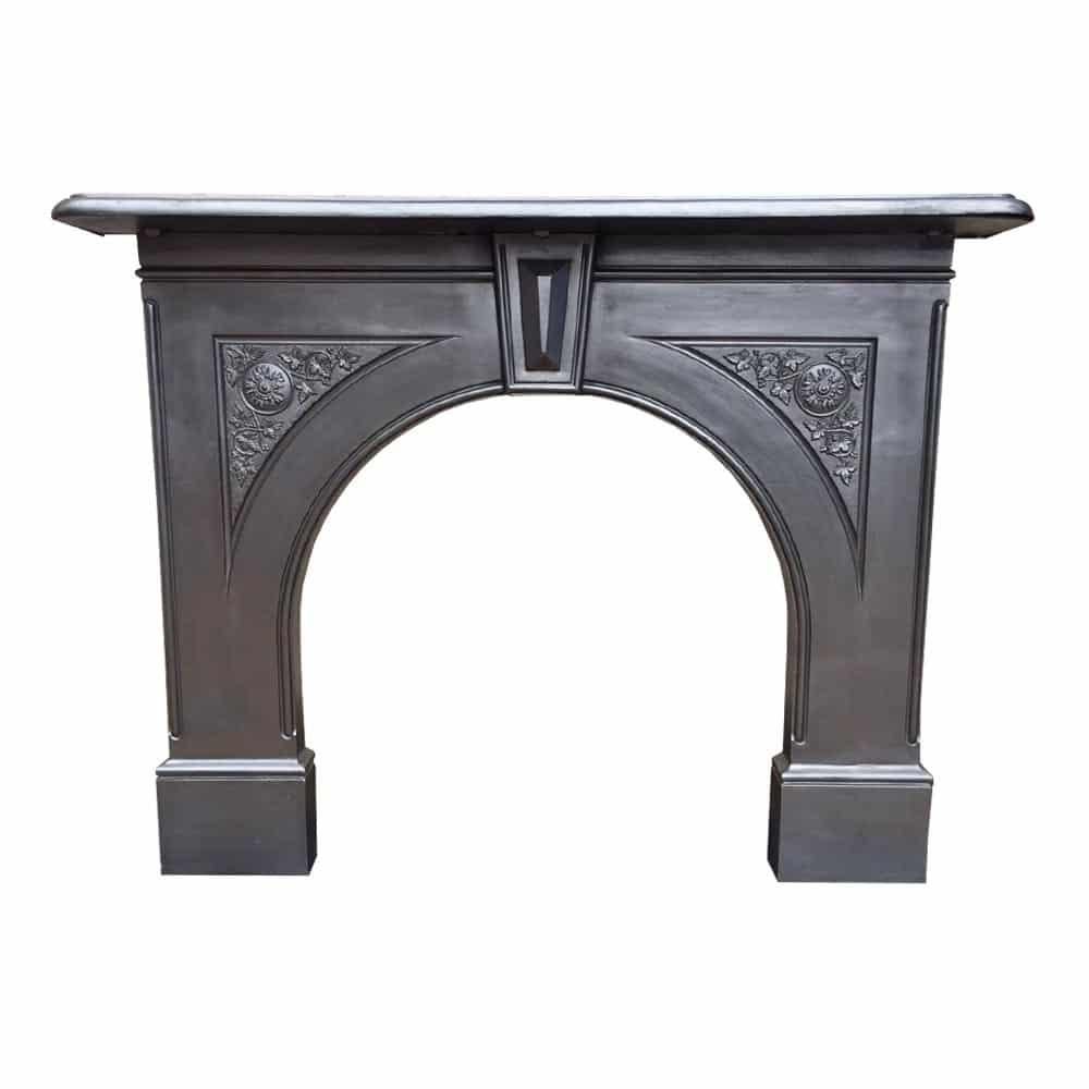 restored cast iron fireplace surround victorian fireplace store