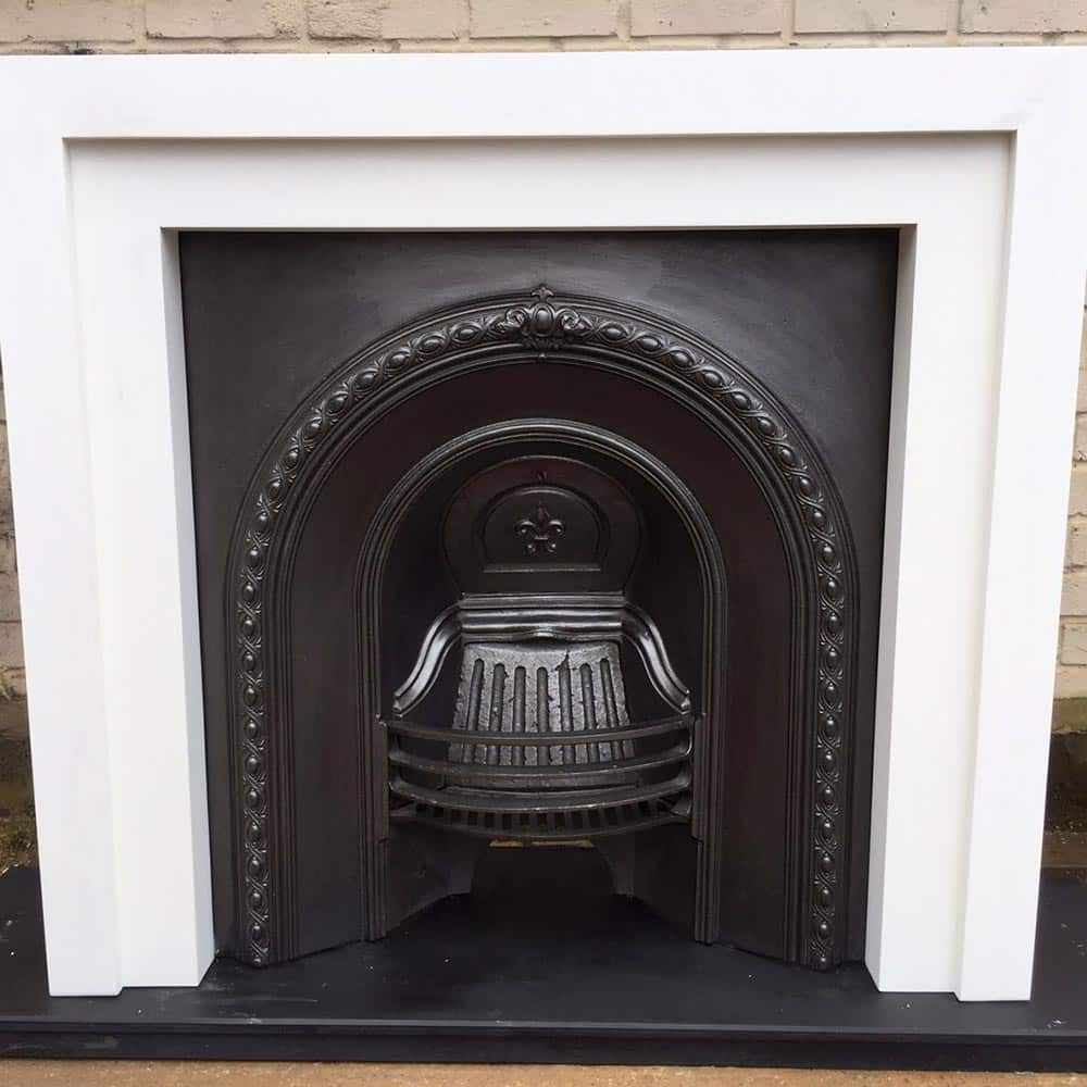 Custom Built Wooden Fireplace Surround Victorian
