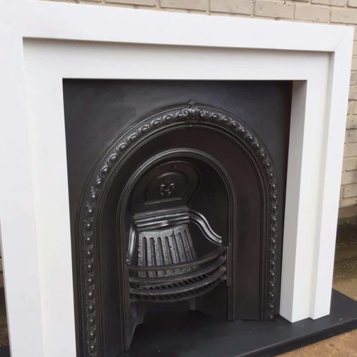 Custom Built Wooden Fireplace Surround