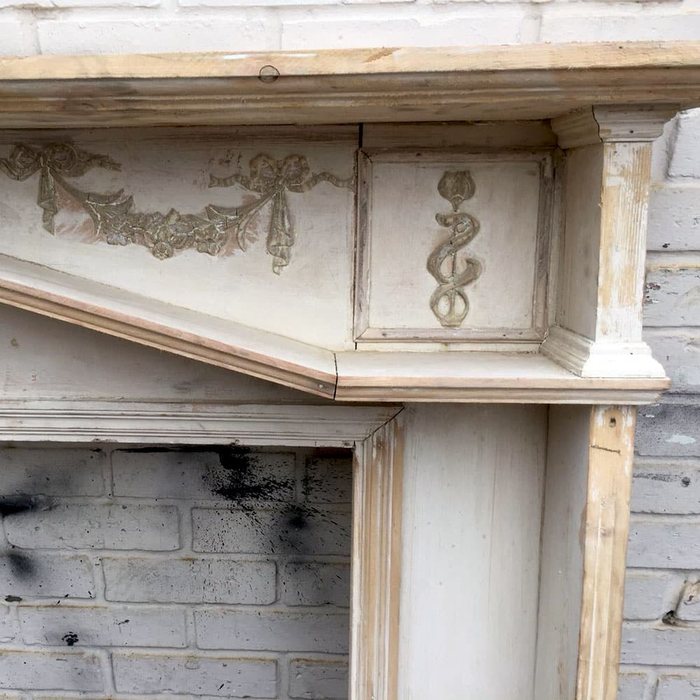 Antique Wooden Fireplace Surround For Sale - Victorian ...