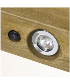 GeoCast Light Oak Beam With Lights