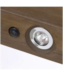 GeoCast Dark Oak Beam With Lights