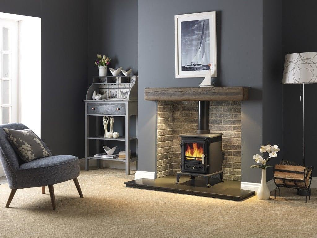 Geocast Dark Oak Beam 36 Quot 48 Quot 54 Quot Victorian Fireplace