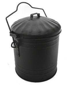 De Vielle Ash Bucket With Lid