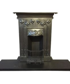 Edwardian Art Nouveau Bedroom Fireplace