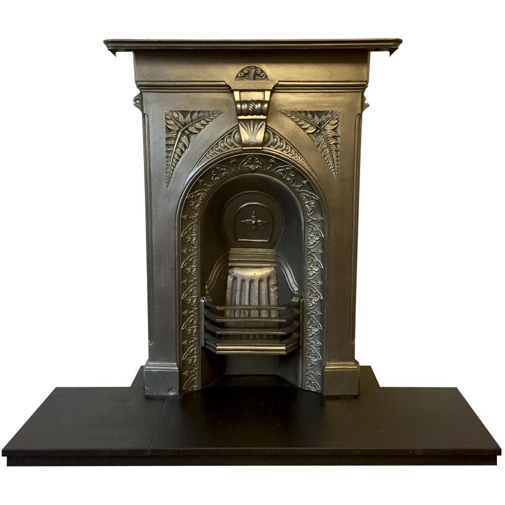 Mid Victorian Fernleaf Bedroom Fireplace Victorian