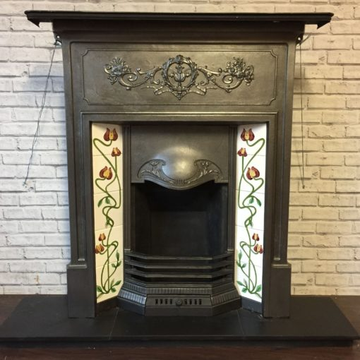 Antique Combination Fireplace