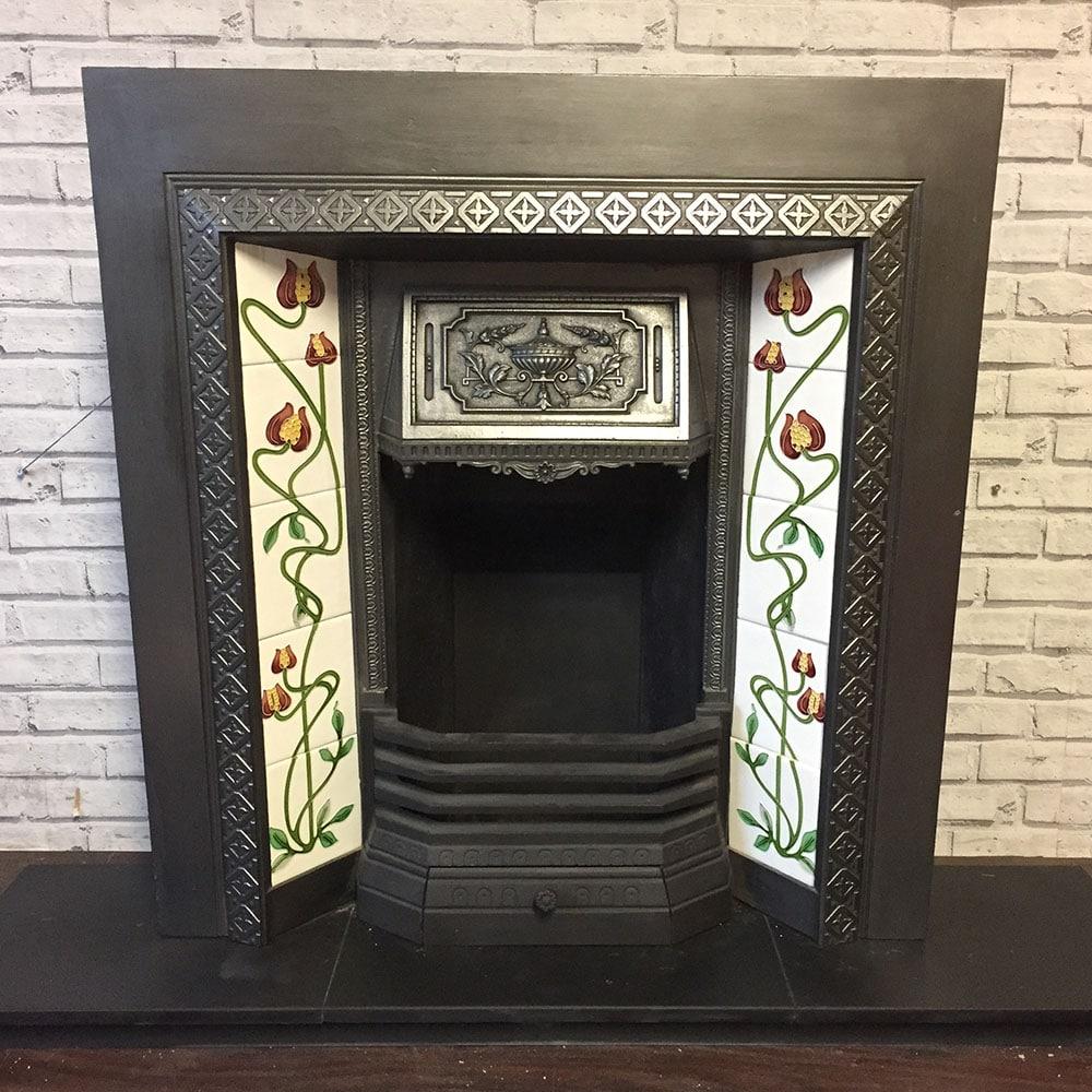 Original Victorian Fireplace Insert For Sale Victorian Fireplace Store