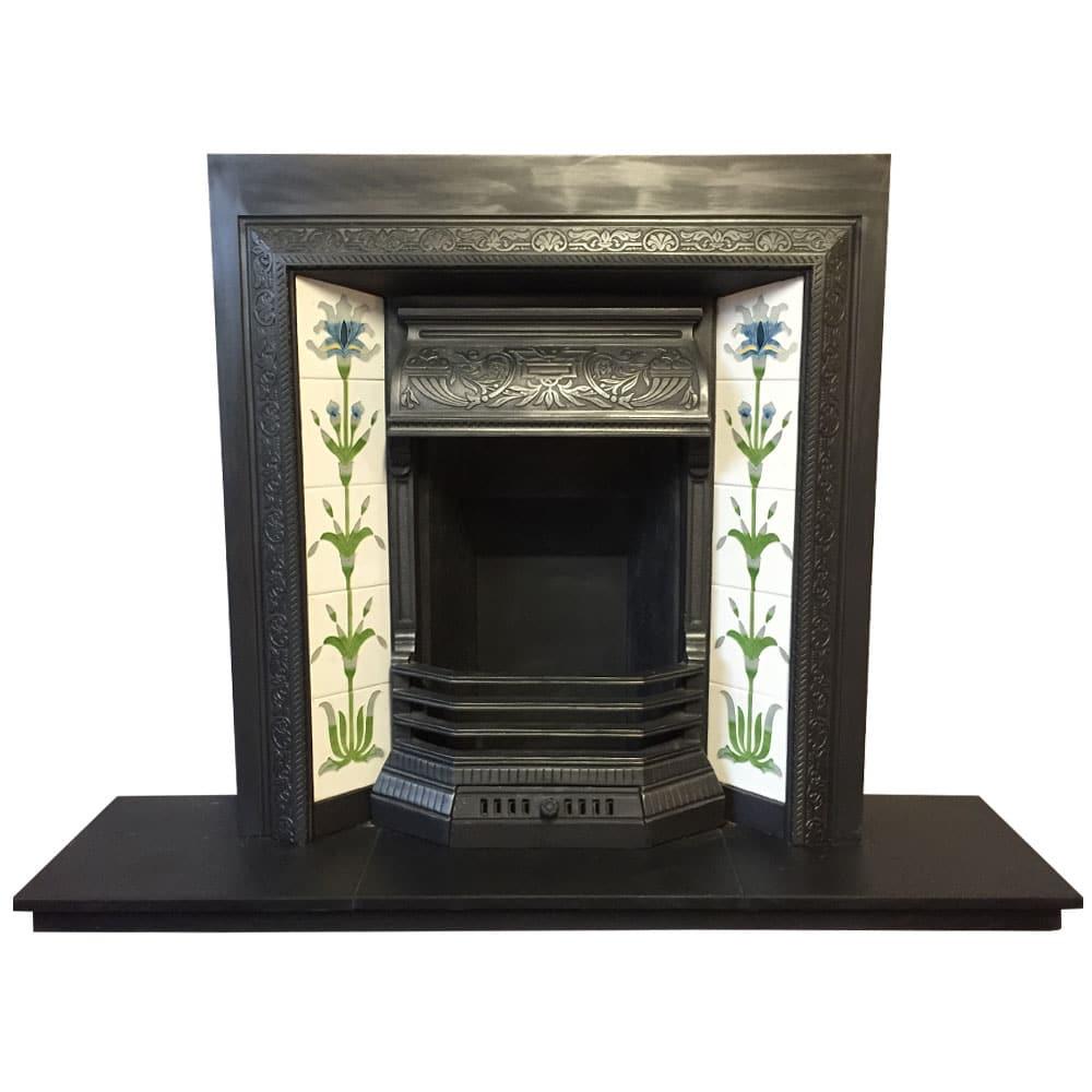 Original Cast Iron Fireplace Insert For Sale Victorian Fireplace Store