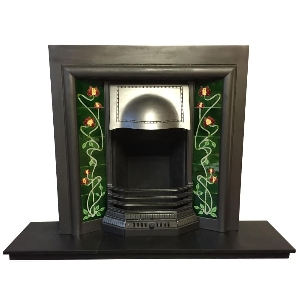 Edwardian Cast Iron Fireplace Insert For Sale Victorian Fireplace Store