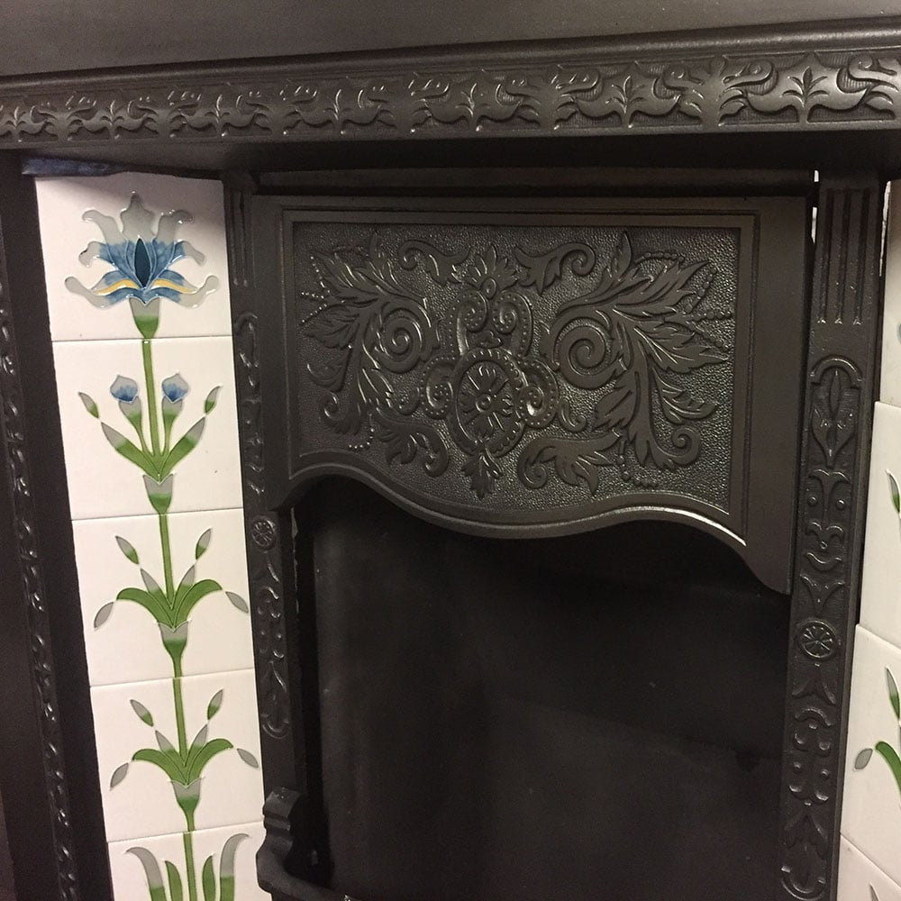 Antique Original Fireplace Insert For Sale Victorian Fireplace Store