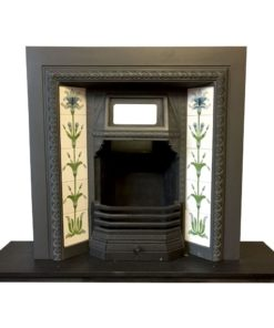 Original Tiled Canopy Fireplace Insert