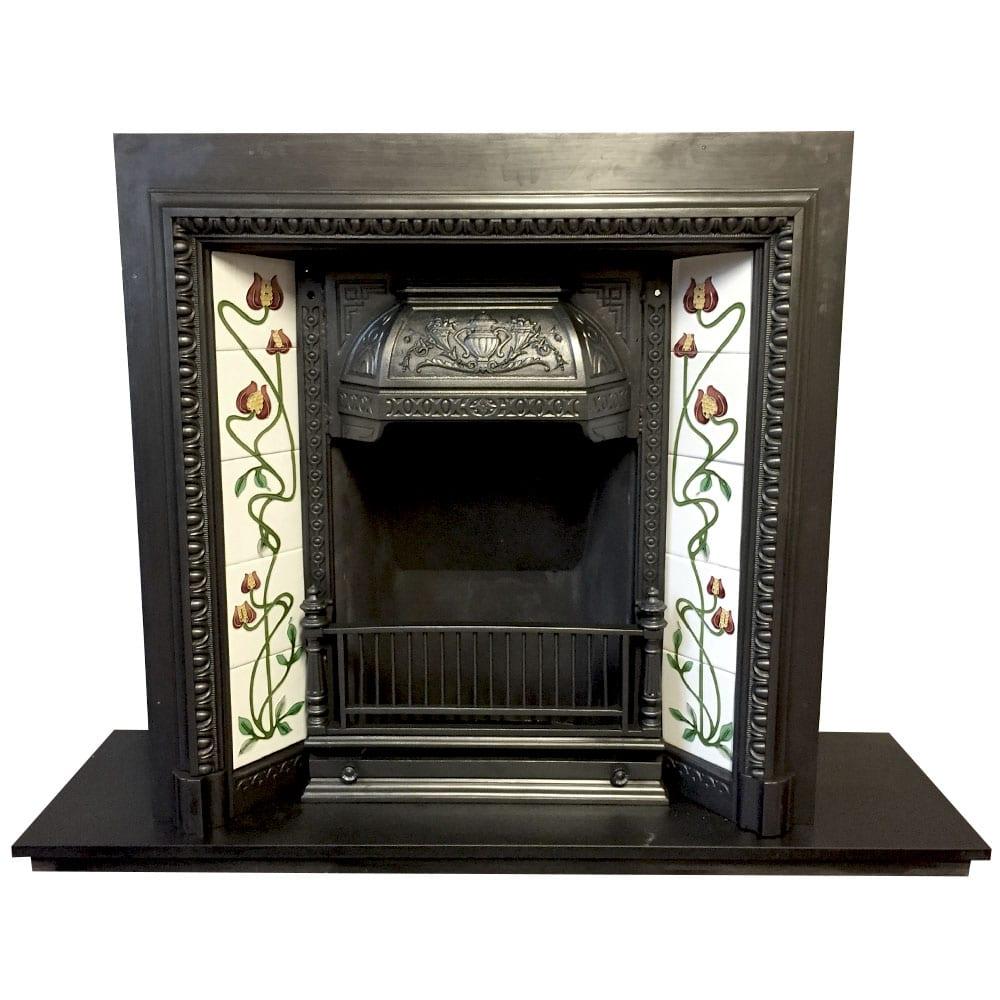 Original Victorian Fireplace Insert Victorian Fireplace