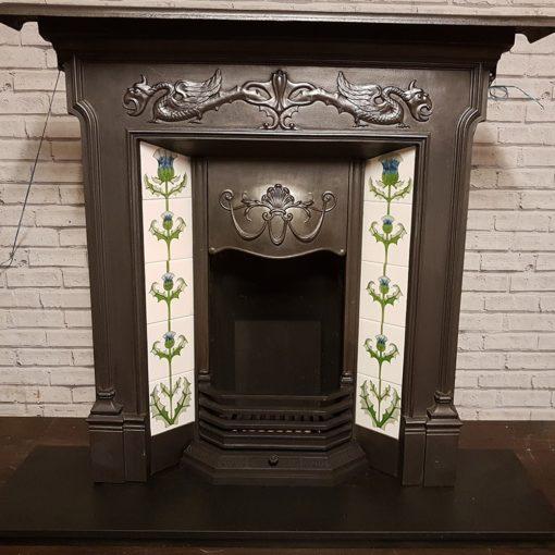 Original Dragon Combination Fireplace