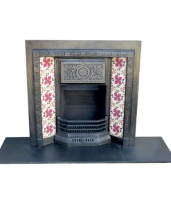 Tiled Victorian Fireplace Insert