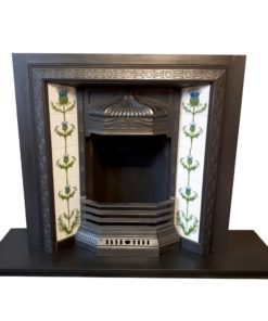 Original Curl Fireplace Insert