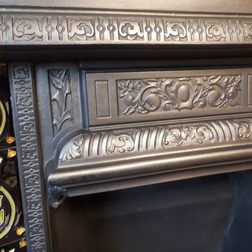 Original Intricate Fireplace Insert