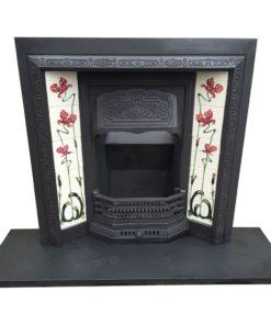 Original Antique Insert Fireplace