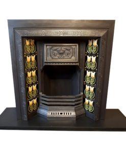Antique Urn Fireplace Insert