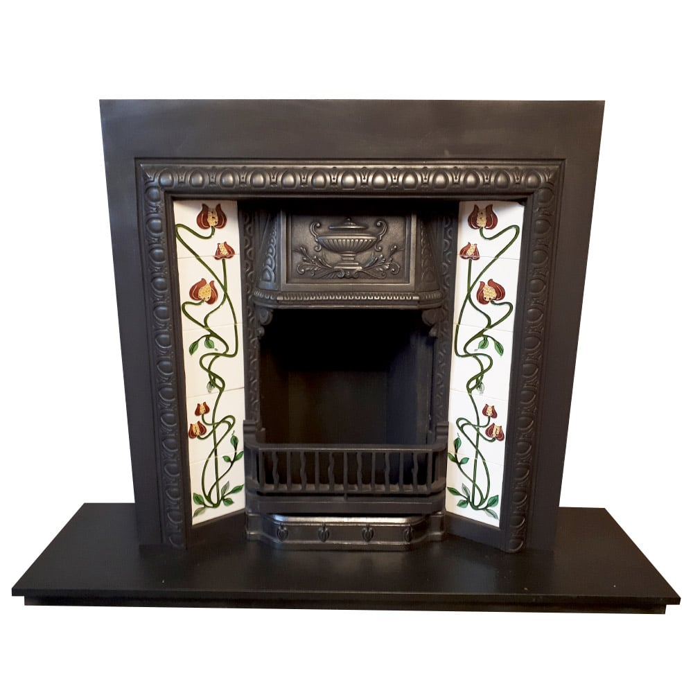 Original Urn Fireplace Insert For Sale Victorian Fireplace Store