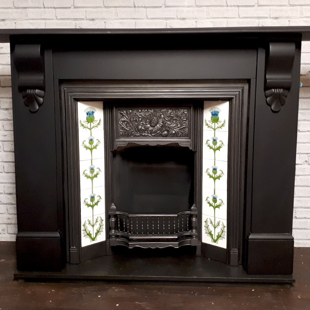 Original Slate Fire Surround Victorian Fireplace Store