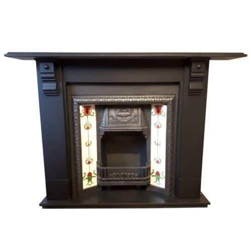 Antique Slate Fireplace Surround