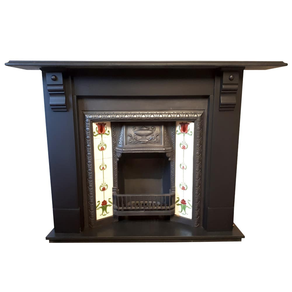 Antique Slate Fireplace Surround For Sale Victorian
