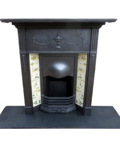 Original Urn & Ribbon Combination Fireplace