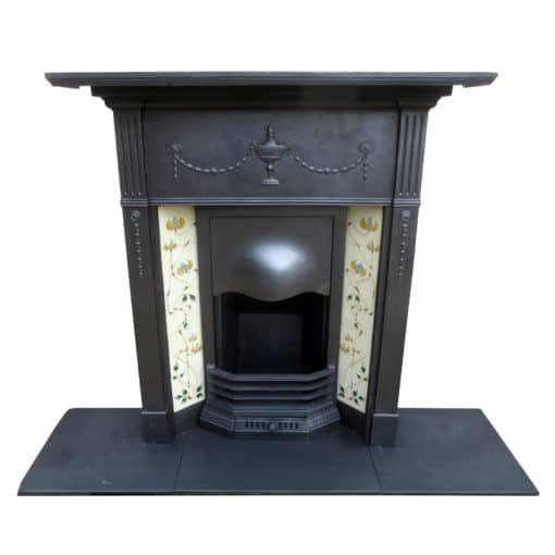 Original Urn & Ribbon Combination Fireplace