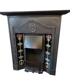 Original Bowed Combination Fireplace