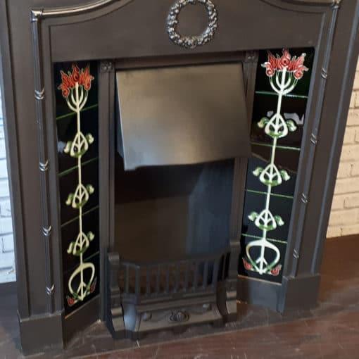 Original Bowed Combination Fireplace
