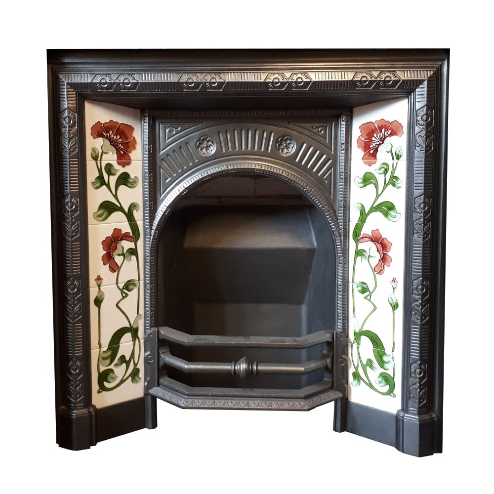 Original Curved Fireplace Insert For Sale Victorian Fireplace Store