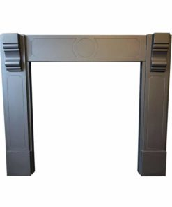 Victorian Anthracite Grey Slate Surround