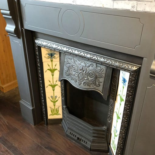 Victorian Anthracite Grey Slate Surround - SS138