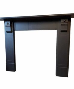 Lined Slate Fireplace Surround