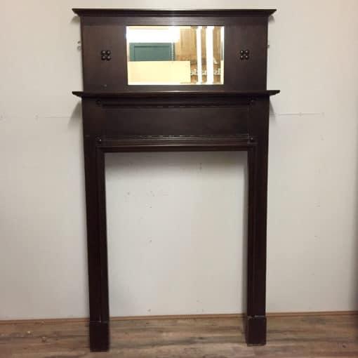 Original Mahogany Fire Surround - TS094