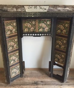 UN065 - Unrestored Fireplace Insert