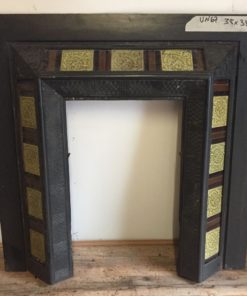 UN067 - Unrestored Fireplace Insert