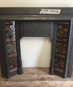 UN068 - Unrestored Fireplace Insert