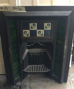 UN073 - Unrestored Fireplace Insert