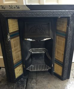 UN074 - Unrestored Fireplace Insert