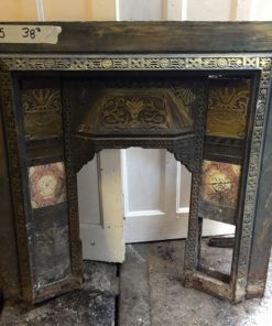 UN075 - Unrestored Fireplace Insert
