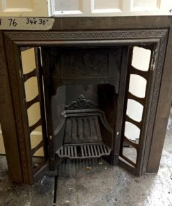 UN076 - Unrestored Fireplace Insert