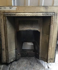 UN077 - Unrestored Fireplace Insert