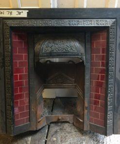 UN078 - Unrestored Fireplace Insert